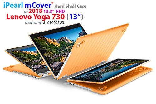 mCover iPearl Hard Shell Case for New 13.3 Lenovo Yoga 720 (13) Laptop (Orange)