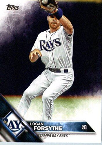 2016 Topps #216 Logan Forsythe Tampa Bay Rays Baseball Card