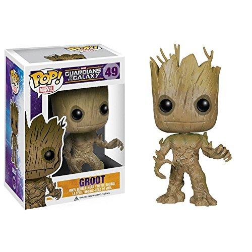 Funko POP Marvel: Guardians of The Galaxy – Groot Vinyl Bobble-Head Figure