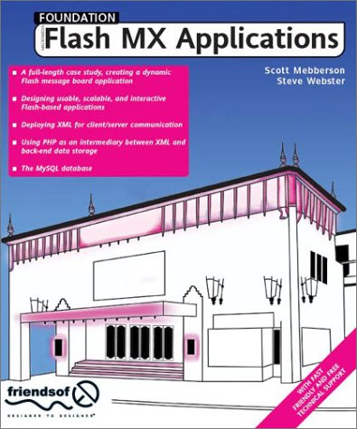 Foundation Flash MX Applications pdf epub