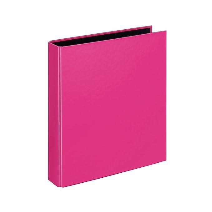 Velocolor 1153.300 - Archivador (tamaño A5, 4 anillas, 44mm), color rosa