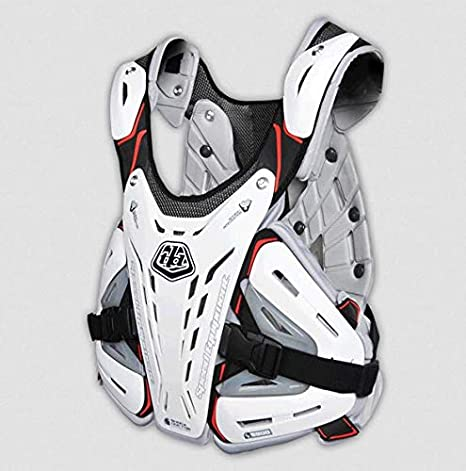 White One Size Troy Lee Designs CP 5900 Youth Roost Guard Dirt Bike Motorcycle Body Armor
