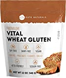 Premium Vital Wheat Gluten - Kate Naturals. High Protein, Low Carb, Vegan, Non GMO. Fresh. Perfect for Keto. Make Seitan…