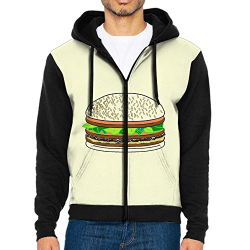 Ngfh Quarter POUNDERS Men Hoodie Hooded Sweatshirt Coat Jacket Outwear Tops