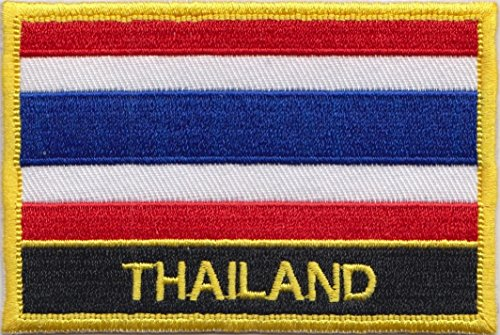 thailand country embroidered blazer badge