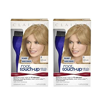 Amazon.com: Clairol Nice \'n Easy Root Touch-Up 8 Matches Medium ...