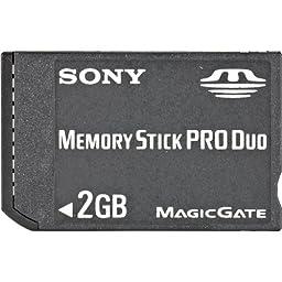 Sony 2 GB Memory Stick PRO Duo Memory Card MSX-M2GS