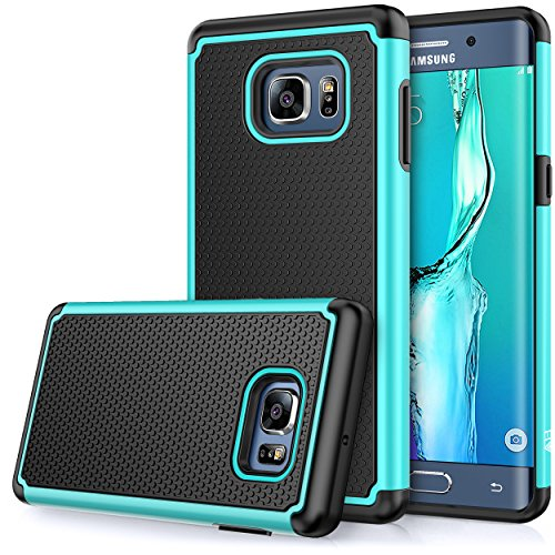 Galaxy S6 Edge Plus case, E LV Samsung Galaxy S6 Edge Plus (Shock Proof Defender) Slim Case CoverNEW Full Protection from Drops and impacts for Samsung Galaxy S6 Edge Plus [Teal]