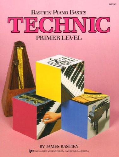 Bastien Piano Basics Technic Books - 4