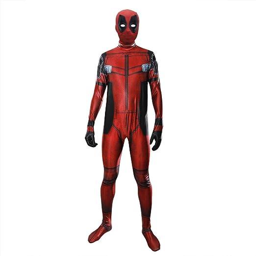ZHANGQI Superhéroe Deadpool Disfraz Accesorios De Dibujos Animados ...
