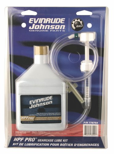 Johnson Evinrude HPF PRO Gearcase Lube Kit Pump 0778754
