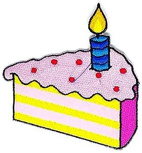 Feliz tarta de cumpleaños caricatura Sign Hippie Retro Biker ...