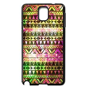 C-EUR Customized Print Aztec Tribal Hard Skin Case Compatible For Samsung Galaxy Note 3 N9000