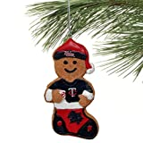 MLB Minnesota Twins 2012 Resin Gingerbread Man Ornament, Blue