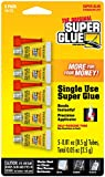Super Glue Super Glue 15175-12 Single-Use Minis, 60-Pack(Pack of 60)