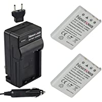 Newmowa EN-EL5 Battery (2-Pack) and Charger kit for NIKON...