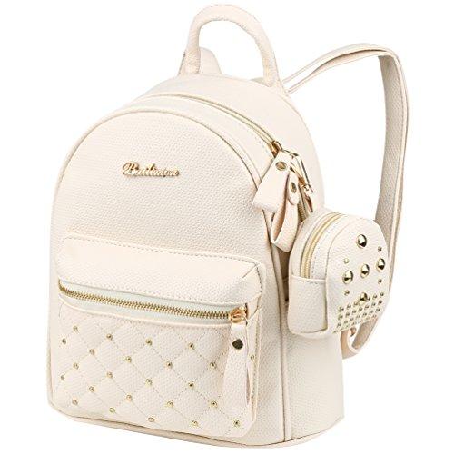 - VBG VBIGER PU Leather Mini Backpack Purse Fashion Travel Backpack for Women Girl