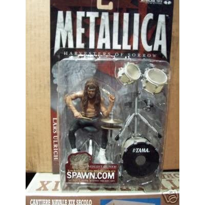 Metallica Harvesters of Sorrow Lars Ulrich McFarlane Action Figure: Toys & Games