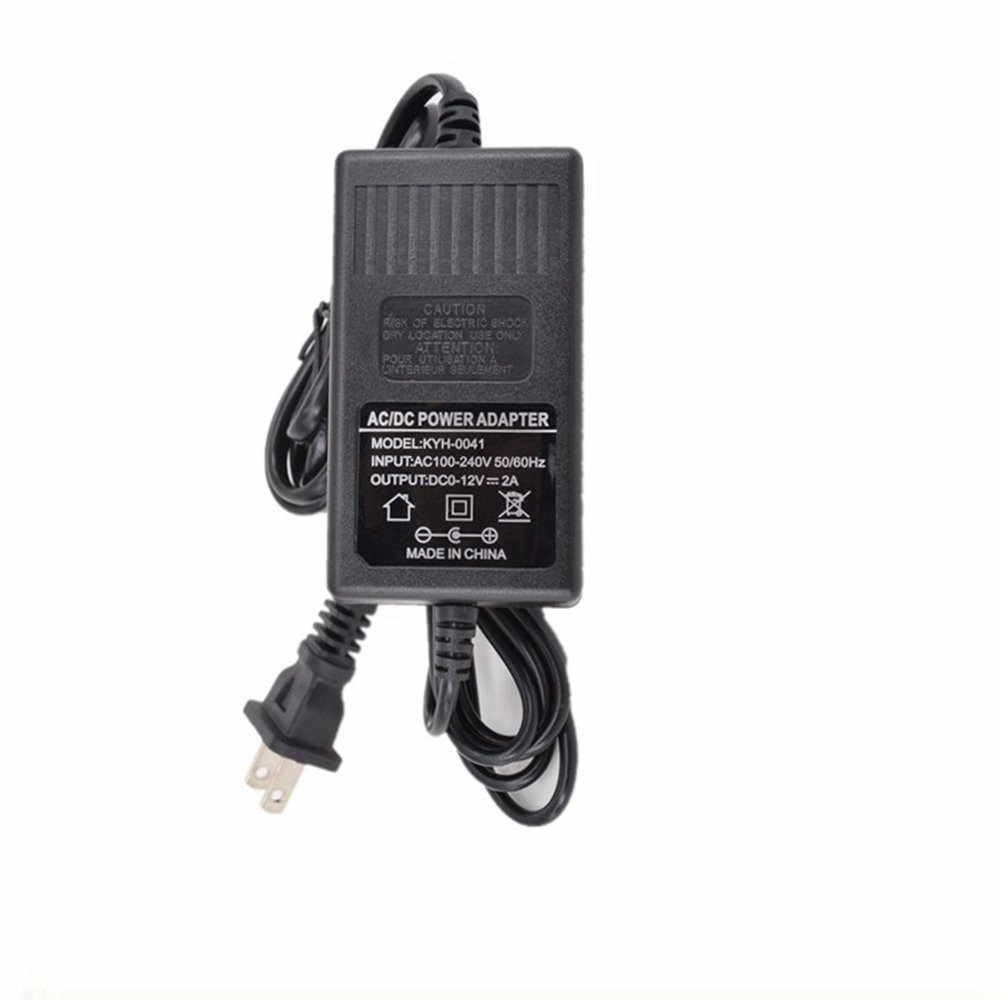 Xking AC110V/220V TO DC 0/12V 1.2 MAX Dual Power Line Adjustable Transformer with Switch Dimming Power Adapter Dimmer charger