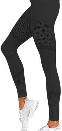 B/H Cintura Alta Mujer Naked portivos Pantalon,Leggings sin Costuras Cintura Alta, Leggins Fitness Push up, Pantalones Yoga sin Costuras Energy-Black_XL,Ial para Danza Correr Trotar Ejercicio