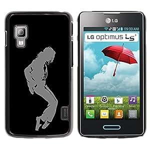 Planetar® ( MJ Dance Moves ) LG Optimus L5 II Dual E455 / E460 / Optimus Duet Fundas Cover Cubre Hard Case Cover