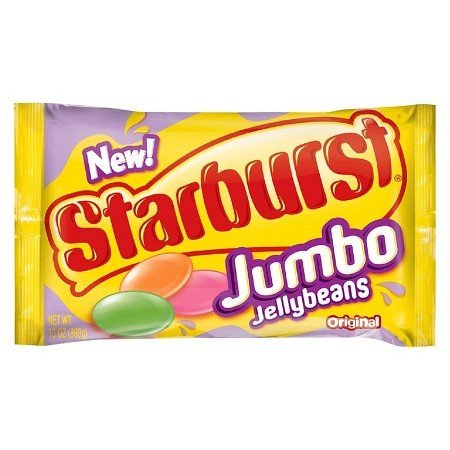 Starburst Jumbo Jellybeans 12 oz bag