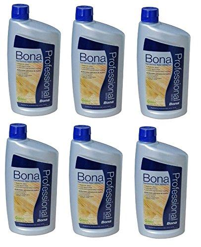 6 PACK Bona Pro Series Wt760051163 Hardwood Floor Refresher