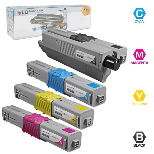 LD Compatible Toner Cartridge Replacement for Okidata Type C