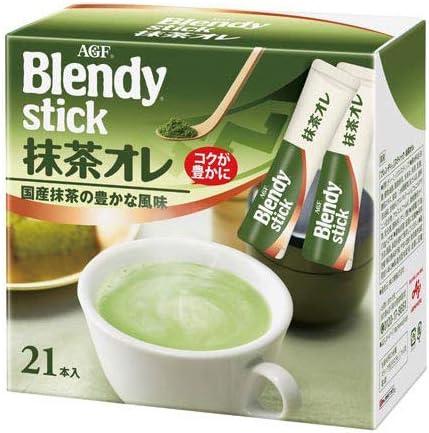 味の素AGF 「ブレンディ」スティック抹茶オレ21本入×3