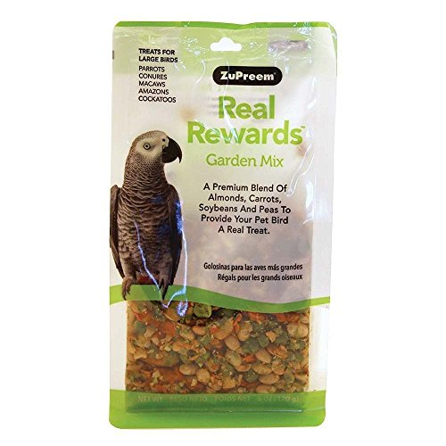 Real Rewards Garden Mix Large Bird Treats by ZuPreem