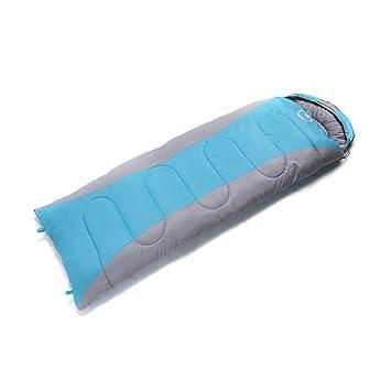 vitalite de 1.8KG portátil Single adultos sobre camping senderismo cremallera Saco de dormir con bolsa Ideal para 4 temporada, Unisex, Blau-L: Amazon.es: ...