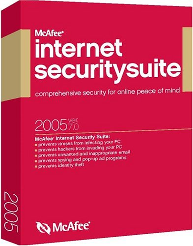 McAfee Internet Security 2005 7.0 [VirusScan, Firewall, Spamkiller, Privacy, Parental Controls] [LB] by McAfee (Image #1)