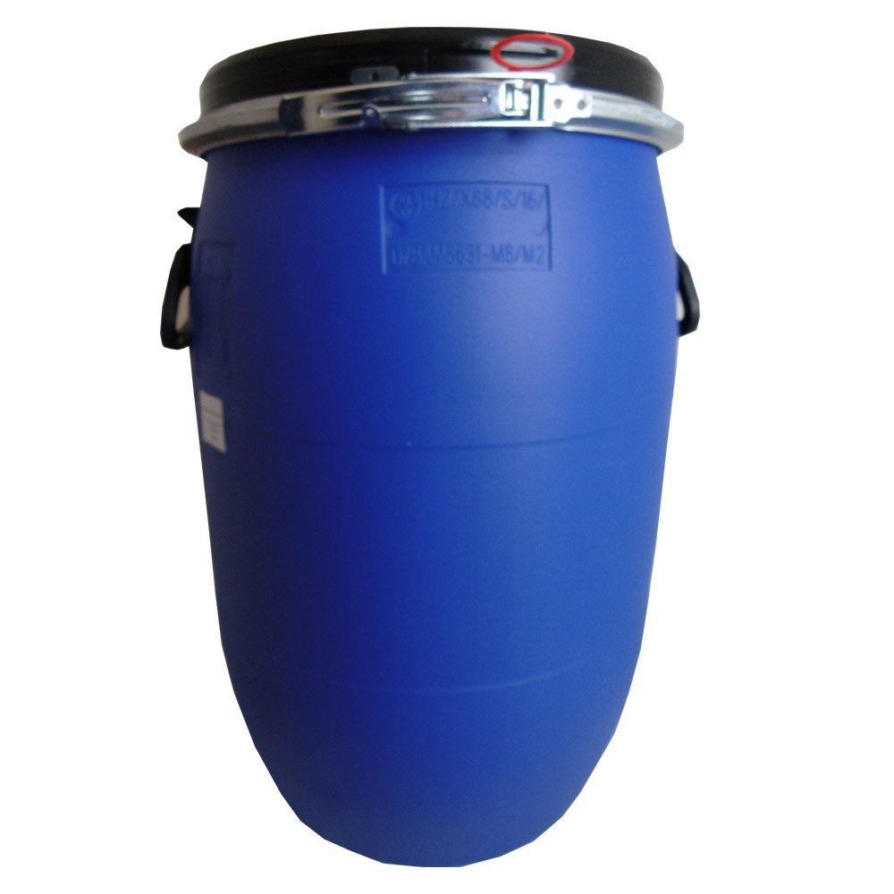 Marvelous 60 L, Litre, Ltr, Plastic Blue Open Top Keg, Drum, Container For Storage,  With Ring Seal (1): Amazon.co.uk: Garden U0026 Outdoors