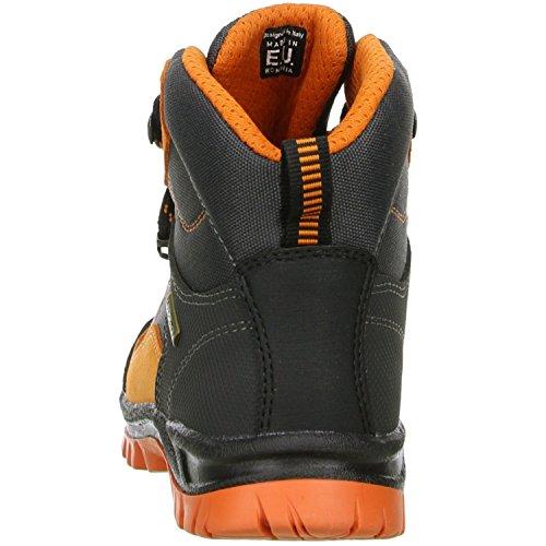 LYTOS 51-0trek Anthrazit/Orange 2dk002/5 - Botas de senderismo de tela para niño gris gris antracita