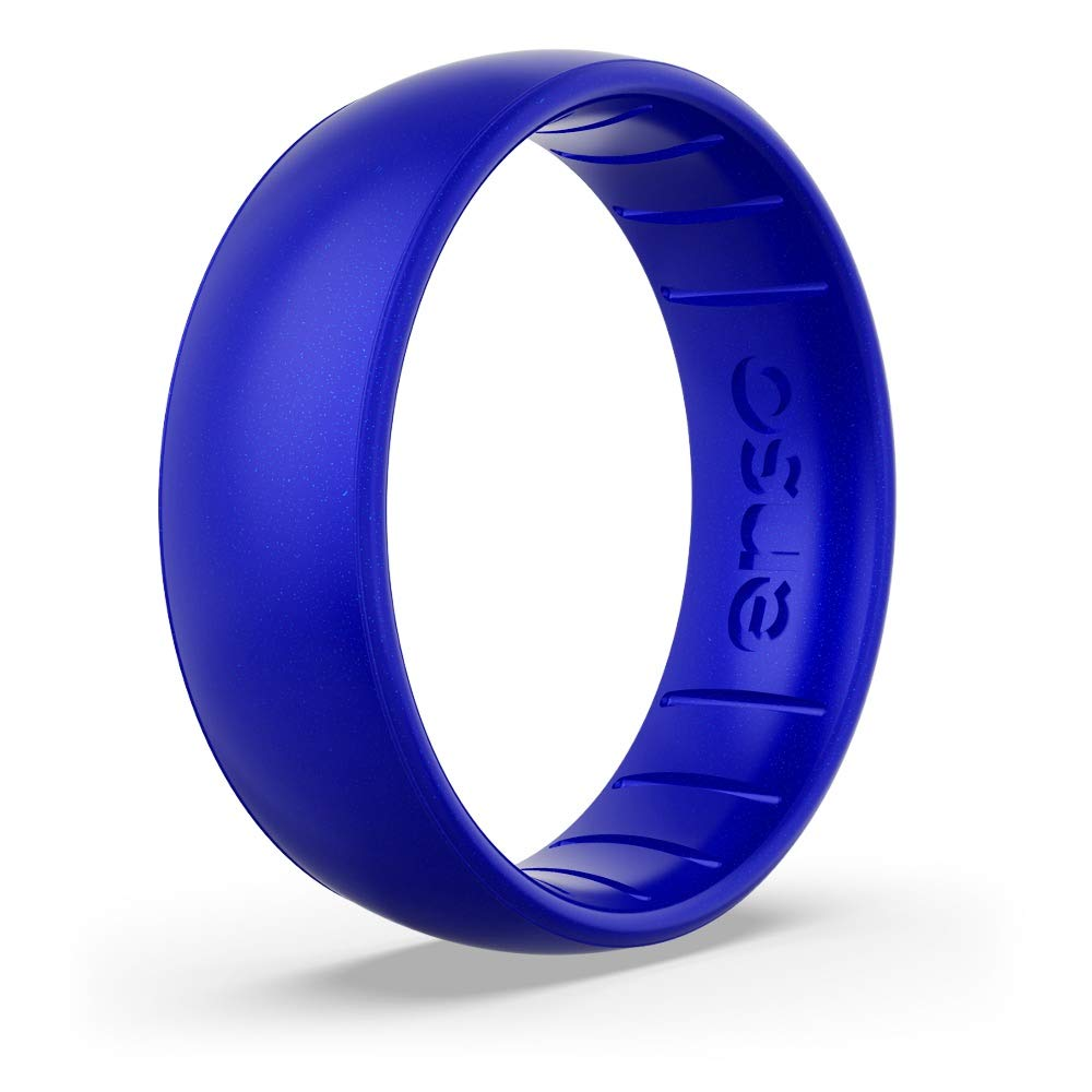 and Safe Lifetime Quality Guarantee Made in The USA Breathable Enso Rings Classic Birthstone Silicone Ring Comfortable