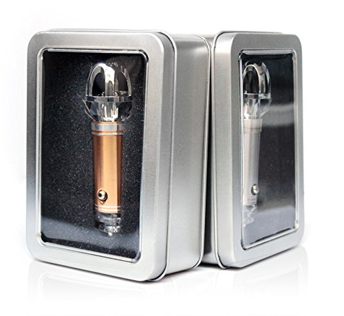 NEW AND IMPROVED Gold Car Air Purifier Ionizer Freshener, ozone generator, odor remover, bacteria