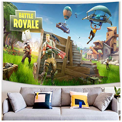 Wall Tapestry - Video Game Party Supplies Decoration - Wall Hanging Beach Blanket Tablecloth Backdrop Handicrafts Polyester Fabric - Tabletop Buffet Home Bedroom Living Room Dorm Wall Decor 9059inch (Video Game Theme Bed Sheets)