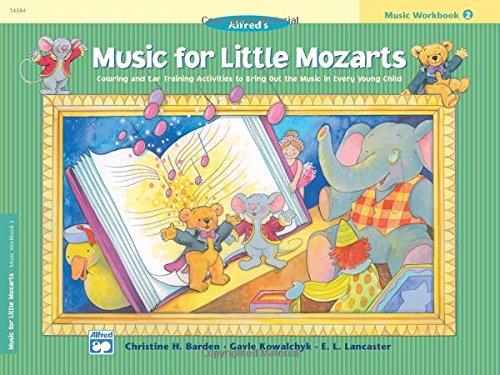 Price comparison product image Music for Little Mozarts Music Workbook,  Bk 2: Coloring and Ear Training Activities to Bring Out the Music in Every Young Child