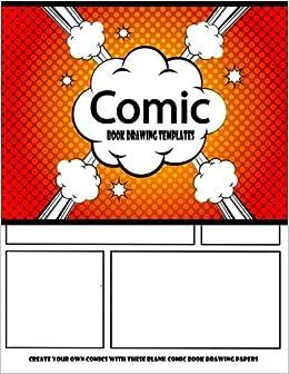 Amazon.com: Comic Book Drawing Templates : Create Your Own Comics ...