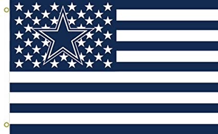 ba5a7d60 Image Unavailable. Image not available for. Color: NFL Dallas Cowboys Stars  and Stripes Flag ...
