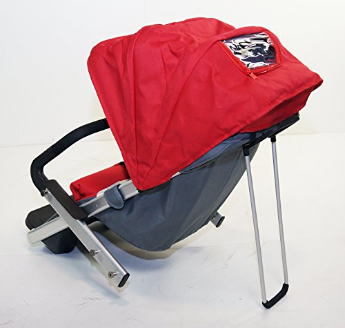 Red Family Stroller Bike for Children 6 Months to 5 Years of Age MCB-01S ALU by USA-MEGASTORE (Image #2)