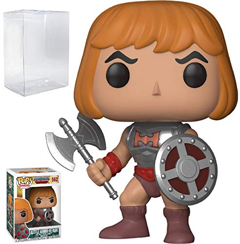 (Funko Pop! Television: Masters of the Universe - Battle Armor He-Man Vinyl Figure (Bundled with Pop BOX PROTECTOR)