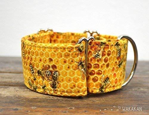 Collar Martingale Para Perro: Bee Sweet, Hecho a Mano en España ...