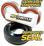 (1 Kit) Whirlpool Cabrio Bravo Oasis Washer Tub Bearing & Seals Kit W10435302 - Hi TEMP GREASE UPGRADE - HD Switch