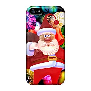 Sanp On Cases Covers Protector For Iphone 5/5s (santa Claus)