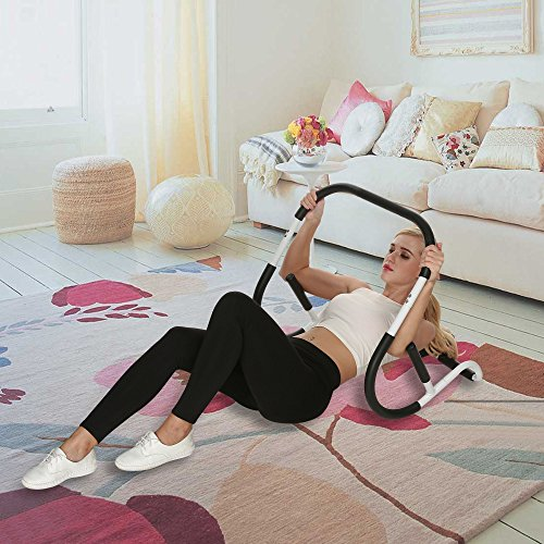 Abdominal+Machine Products : Fashine AB Roller Crunch Machine Abdominal Exercise Fitness Equipment