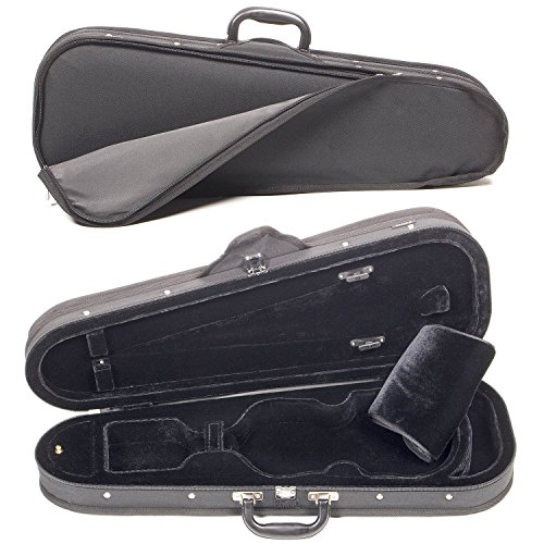 Core CC399 Dart-Shaped 3/4 Violin Case with Black Velvet Interior by Core