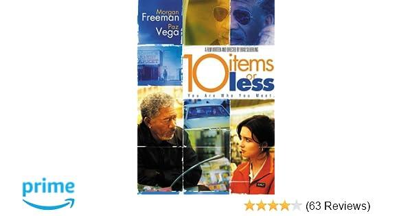 Amazon com: 10 Items or Less: Morgan Freeman, Paz Vega