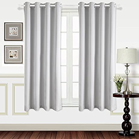 Best Dreamcity High Density Fabric Curtains Blackout Grommet Top Insulated Window Treatment