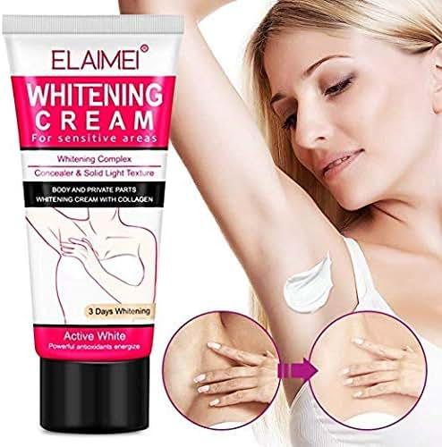 Whitening Cream Natural Underarm Lightening and Brightening Deodorant Cream Armpit Whitening Body Creams Underarm Repair Between Legs Knees Private Part